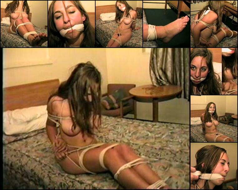 Bound gagged naked
